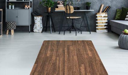 Sorbus Interlocking Floor Mat – Wood Print Multipurpose Foam Tile Flooring