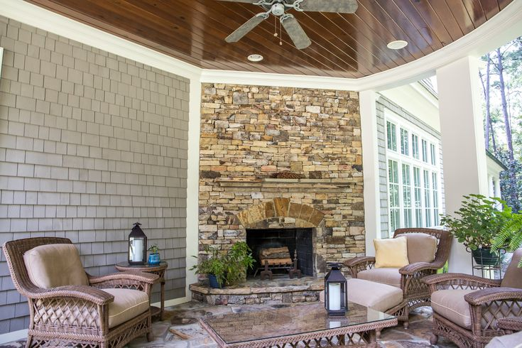 25 Warm And Cozy Outdoor Fireplace Designs, Patio Fireplace Designs