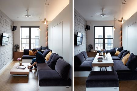 A Studio Apartment Transformed From Work E To Dining