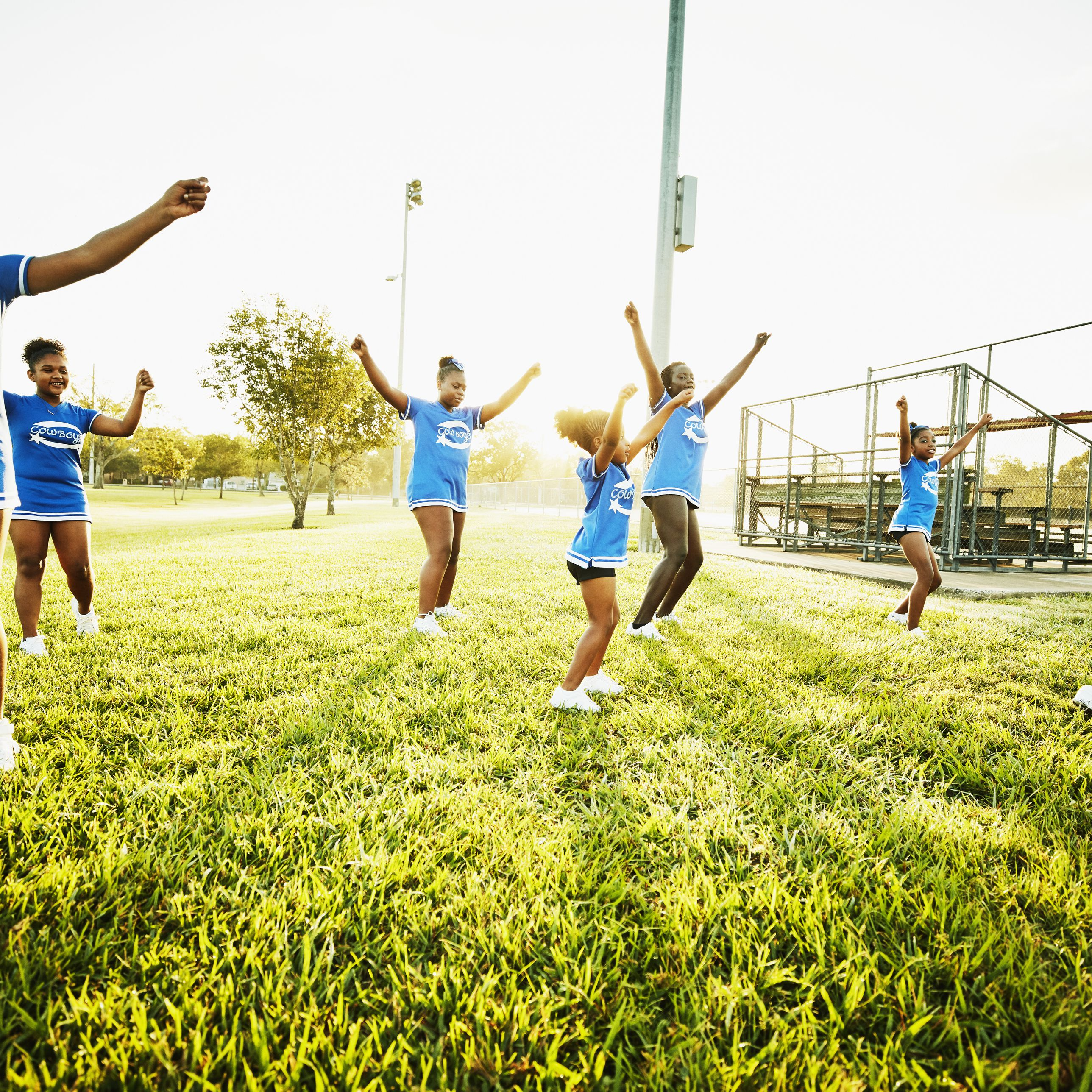 Cheerleading Party Game Ideas