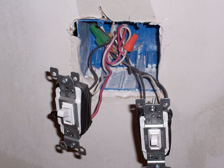 How to Connect Electrical Wires to Fixture Terminals Ac Receptacle With Switch Wiring on