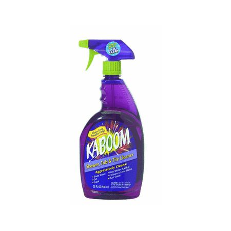 Kaboom Shower Tub And Tile Cleaner Review - Cleaning agent for tiles