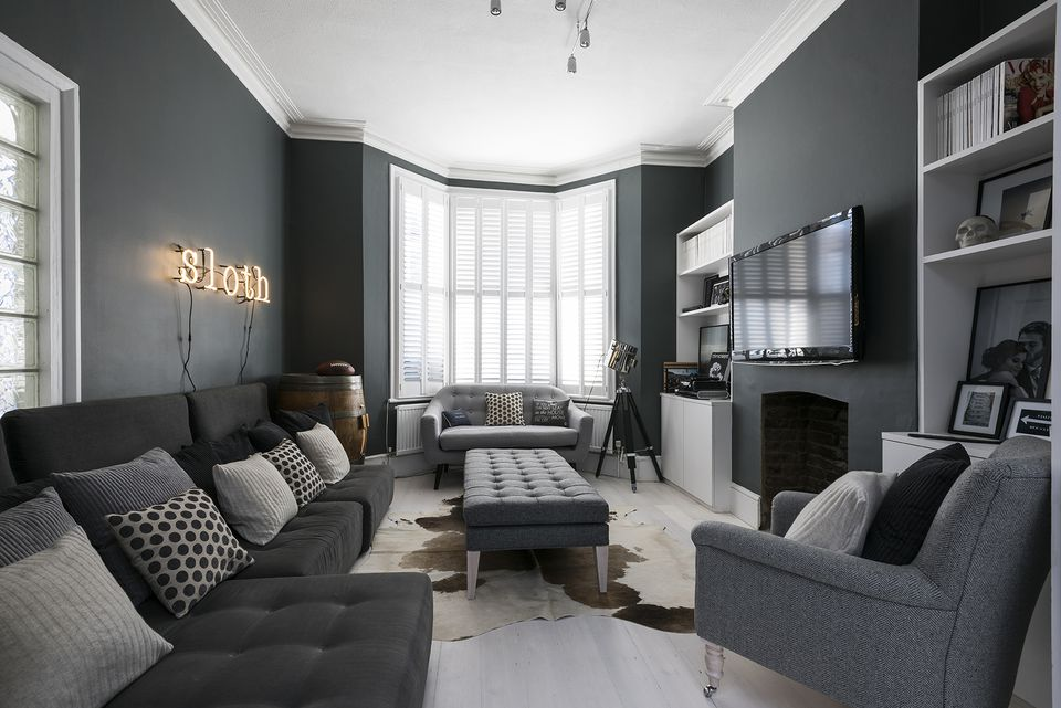 surprising black grey living room ideas | Beautiful Gray Living Room Ideas