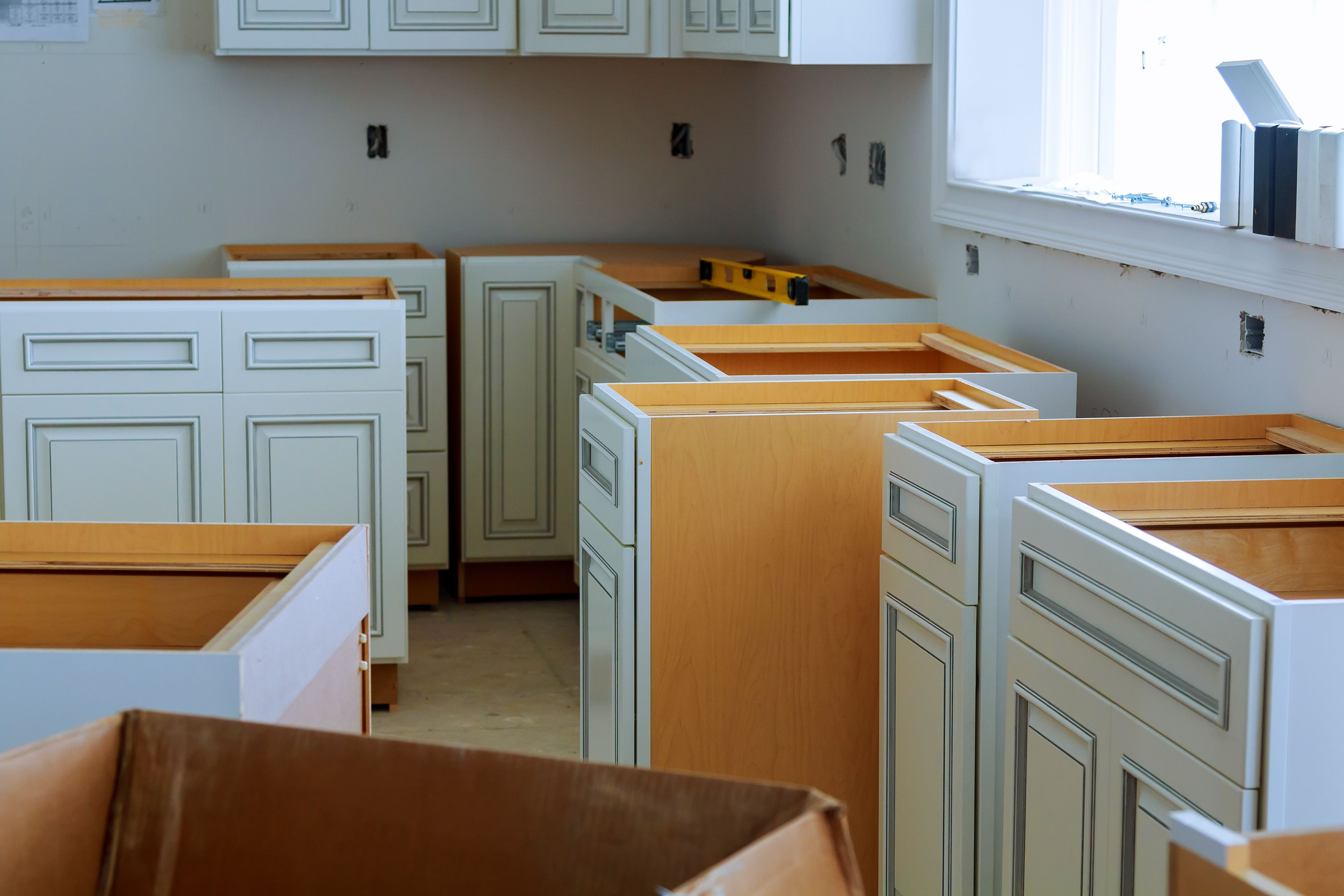 Beat The High Cost Of Kitchen Cabinets