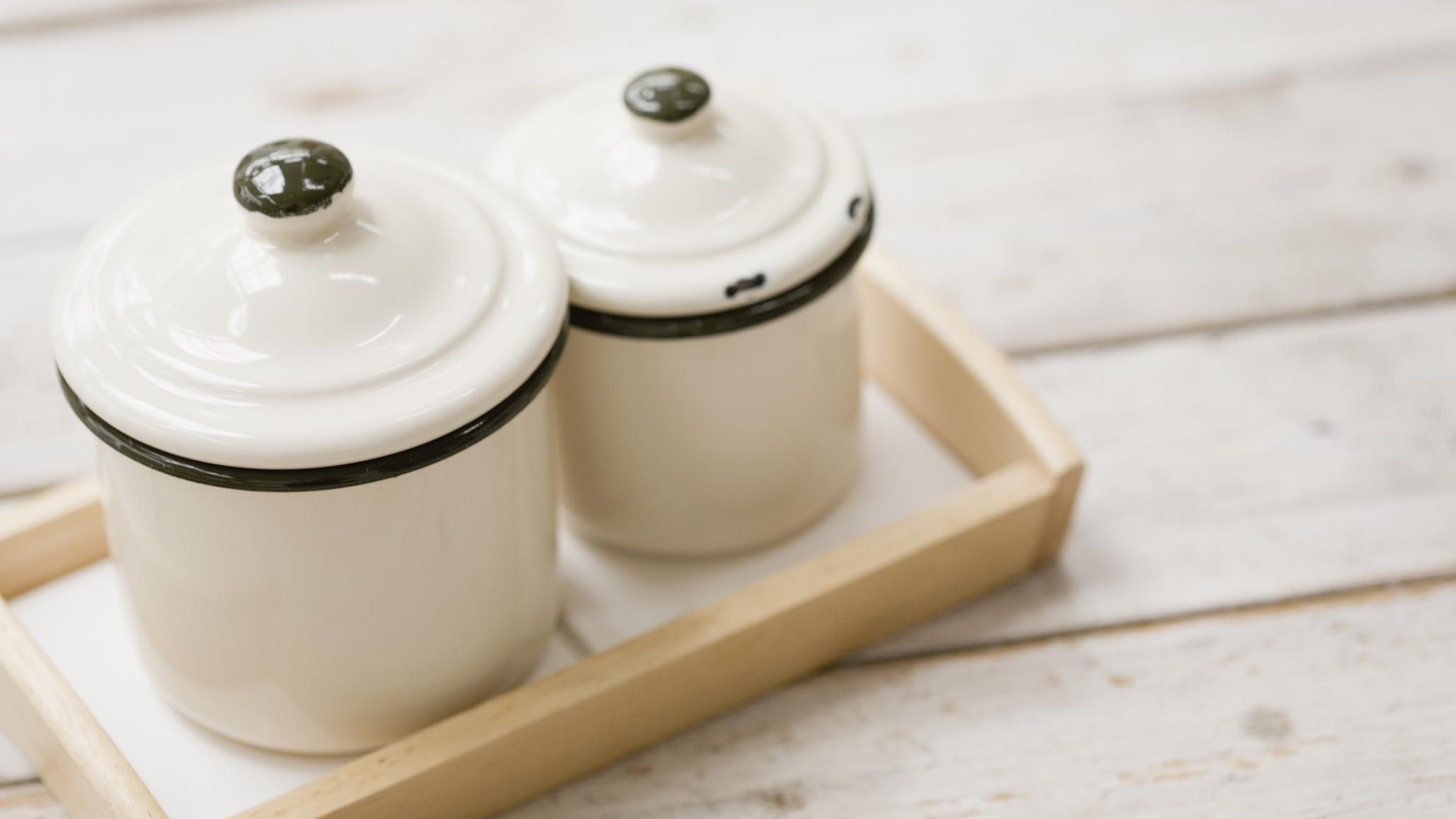 How To Refurbish And Personalize Old Canisters
