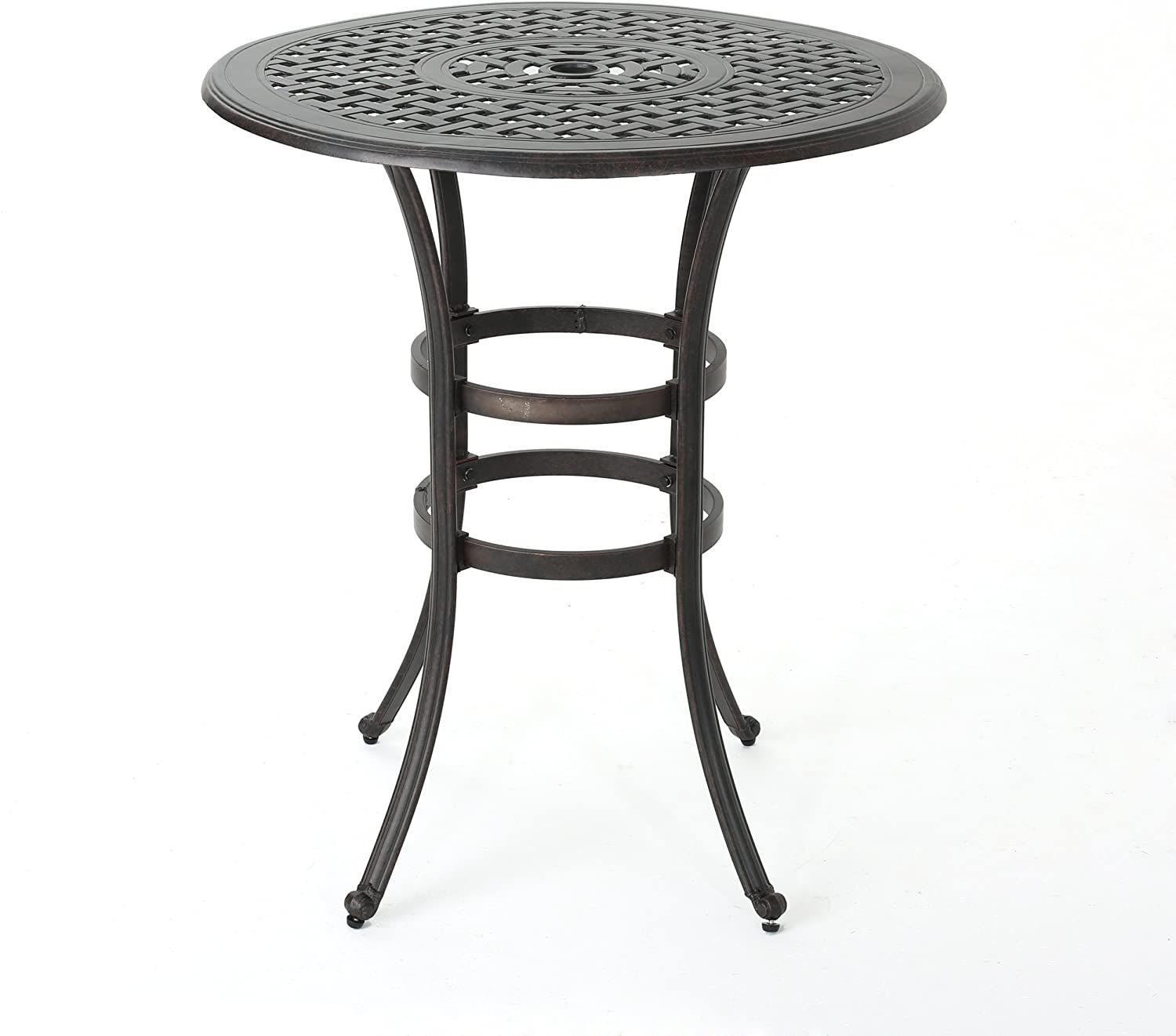 Christopher Knight Home Alfresco Outdoor Round Bar Table