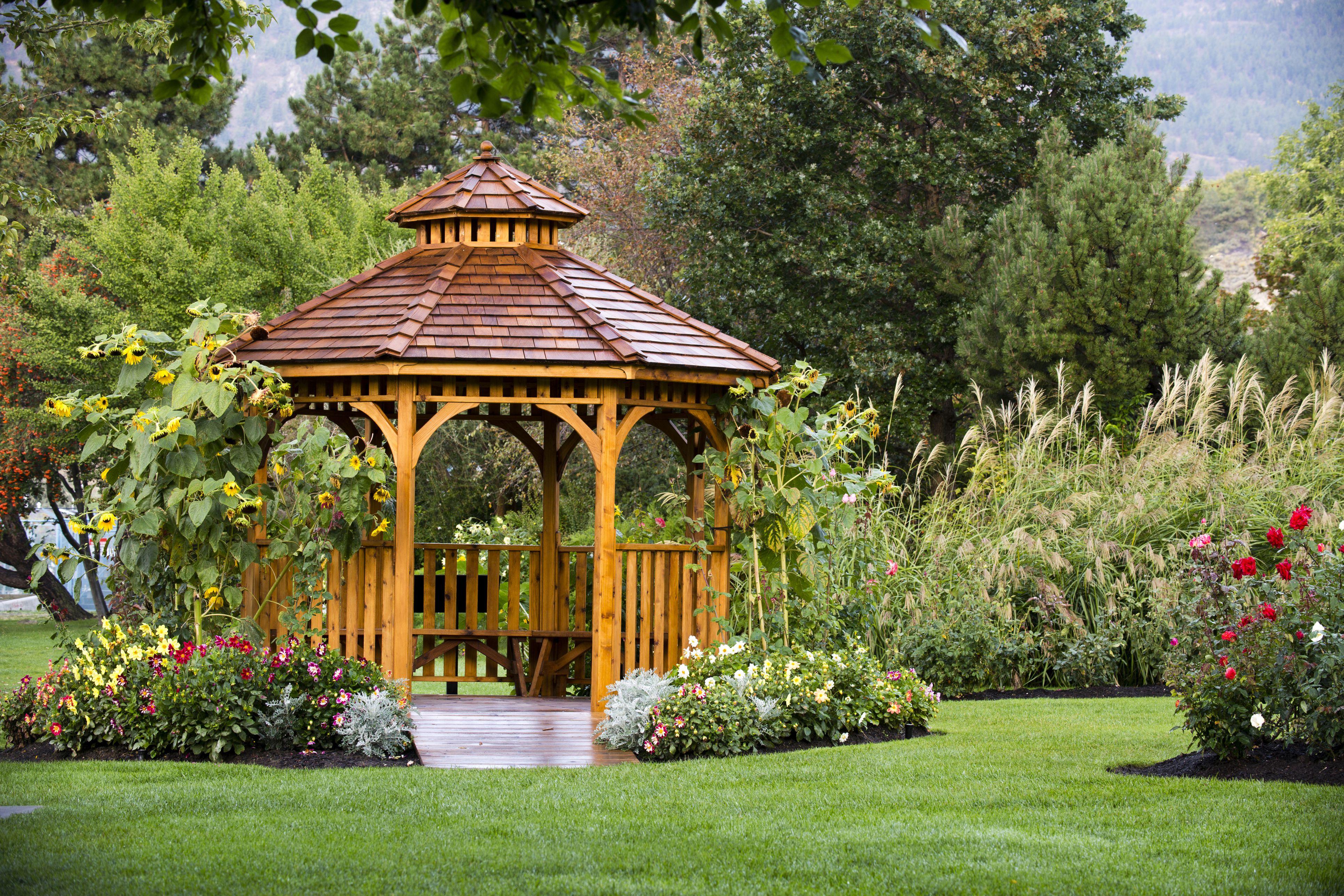 Cedar Gazebo Garden