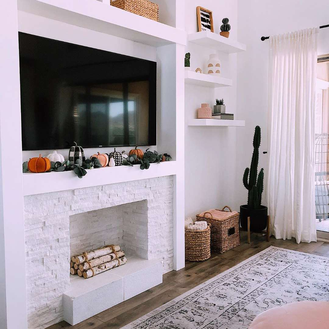 Faux Fireplace Ideas For An Extra Cozy Home