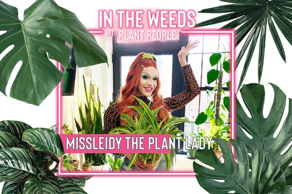 MissLeidy the Plant Lady poses for In the Weeds With Plant People