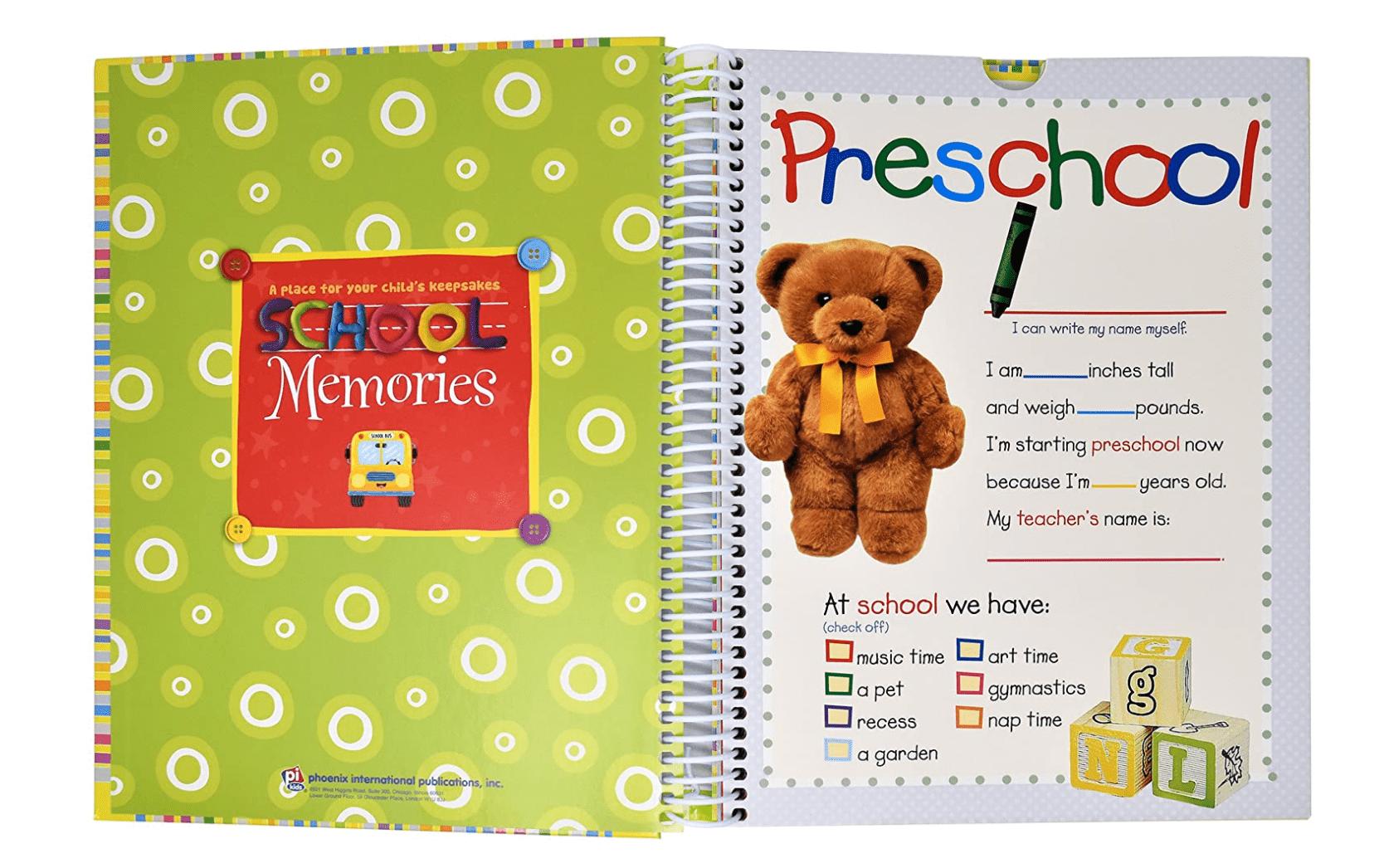 PI Kids School Memory Book