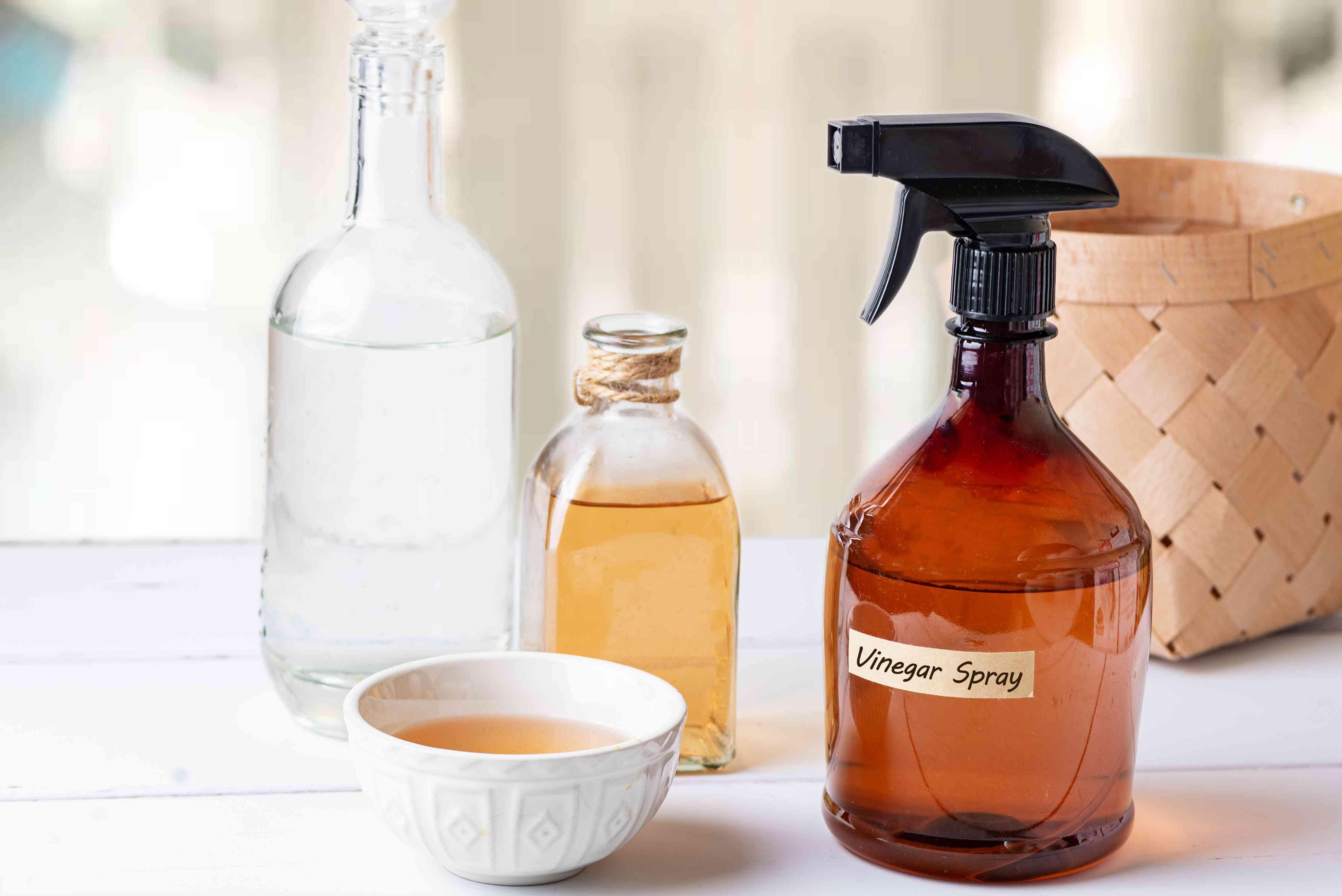 scented vinegar spray