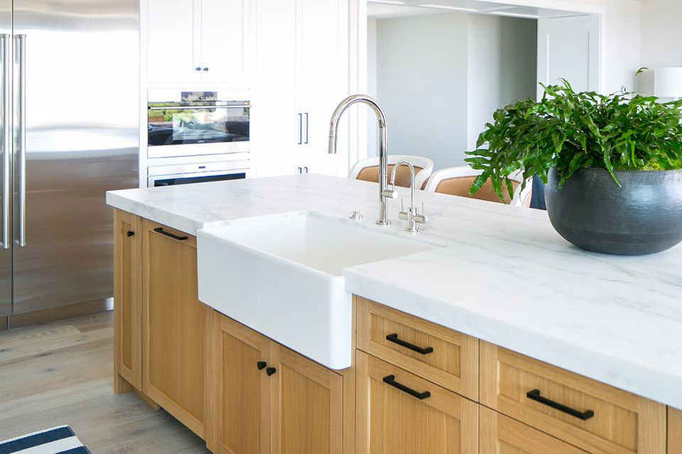 hero marble countertops in modern kitchen