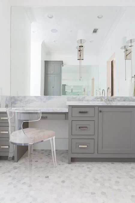 Bathroom Inspiration Modern Design Marble Vanity