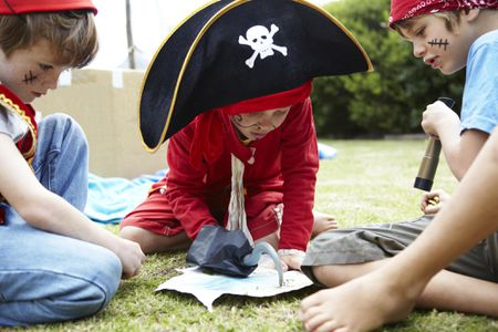 Pirate-Themed Party Game Ideas for Kids