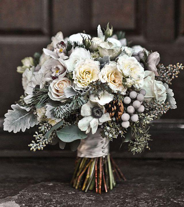 Winter Wedding Bouquets.Winter Wedding Bouquets