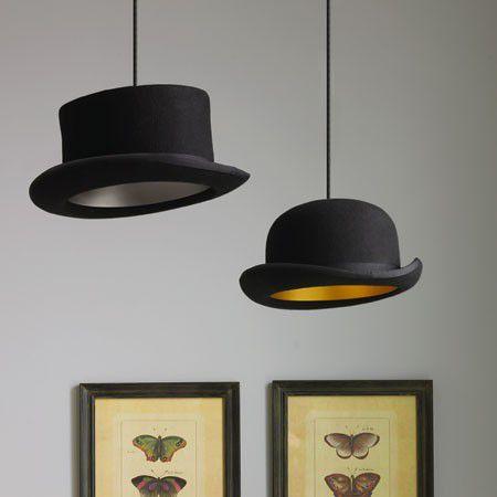 Lámpara de sombrero de copa