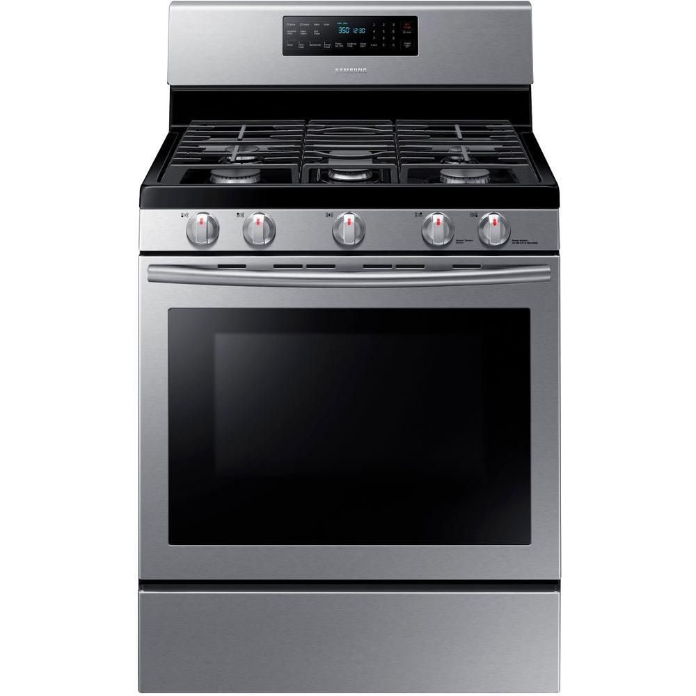 Test Results Samsung 30 Gas Range With Convection Oven Best Overall