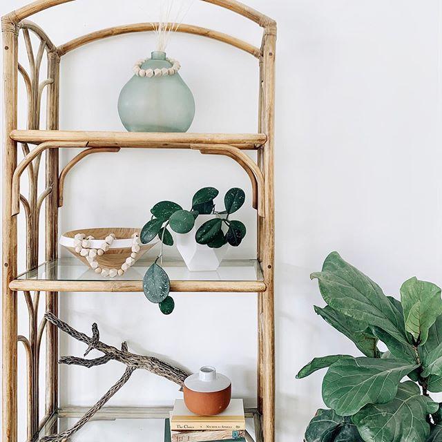 Boho inspired shelf