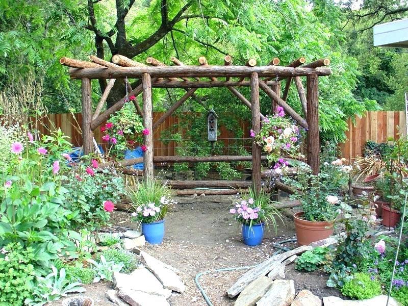 Rustic Garden Design Decoration Ideas Interior Jobs Ct Exterior Fence