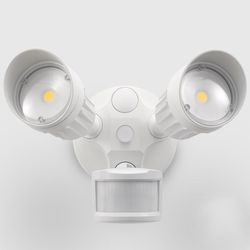 The 7 best outdoor motion sensor lights to buy in 2018 20w dual head motion activated led outdoor security light photo sensor 3 modes aloadofball Image collections