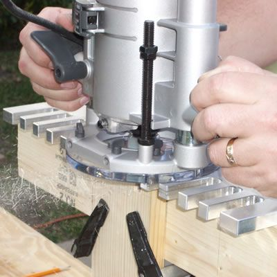 Cutting the Dovetails for the Drawers