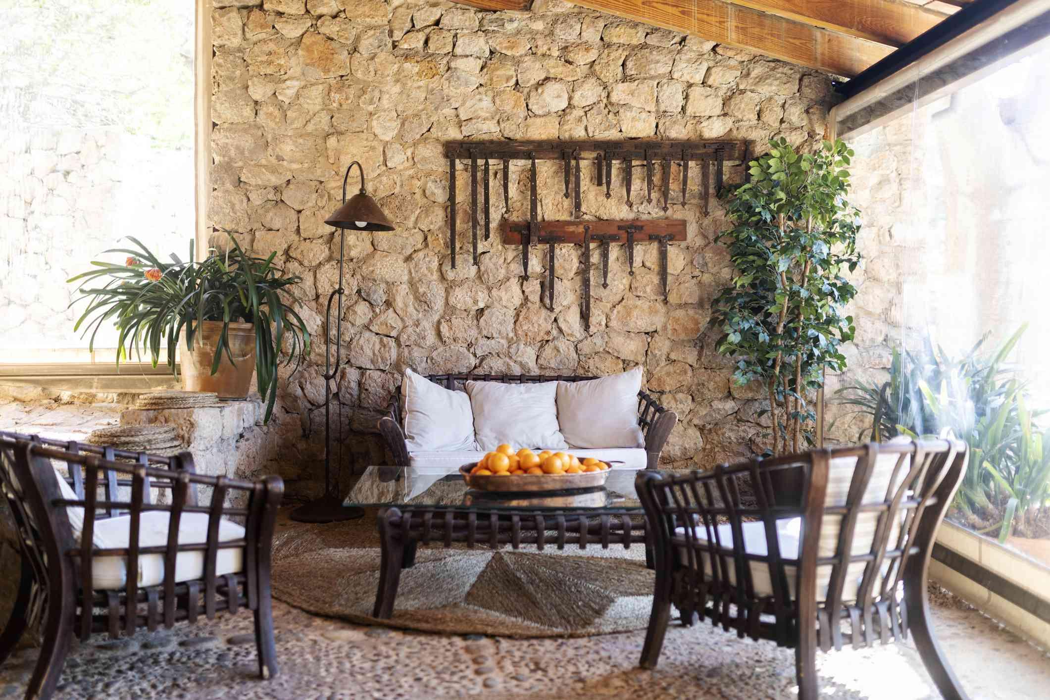 Mediterranean-style interior design in Mallorca