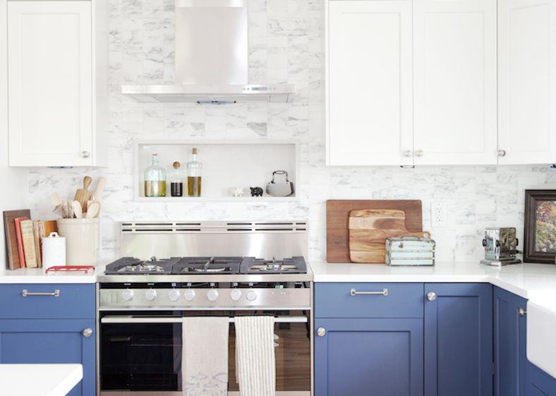 lovely colorful kitchen | 15 Beautiful Feng Shui Kitchen Colors