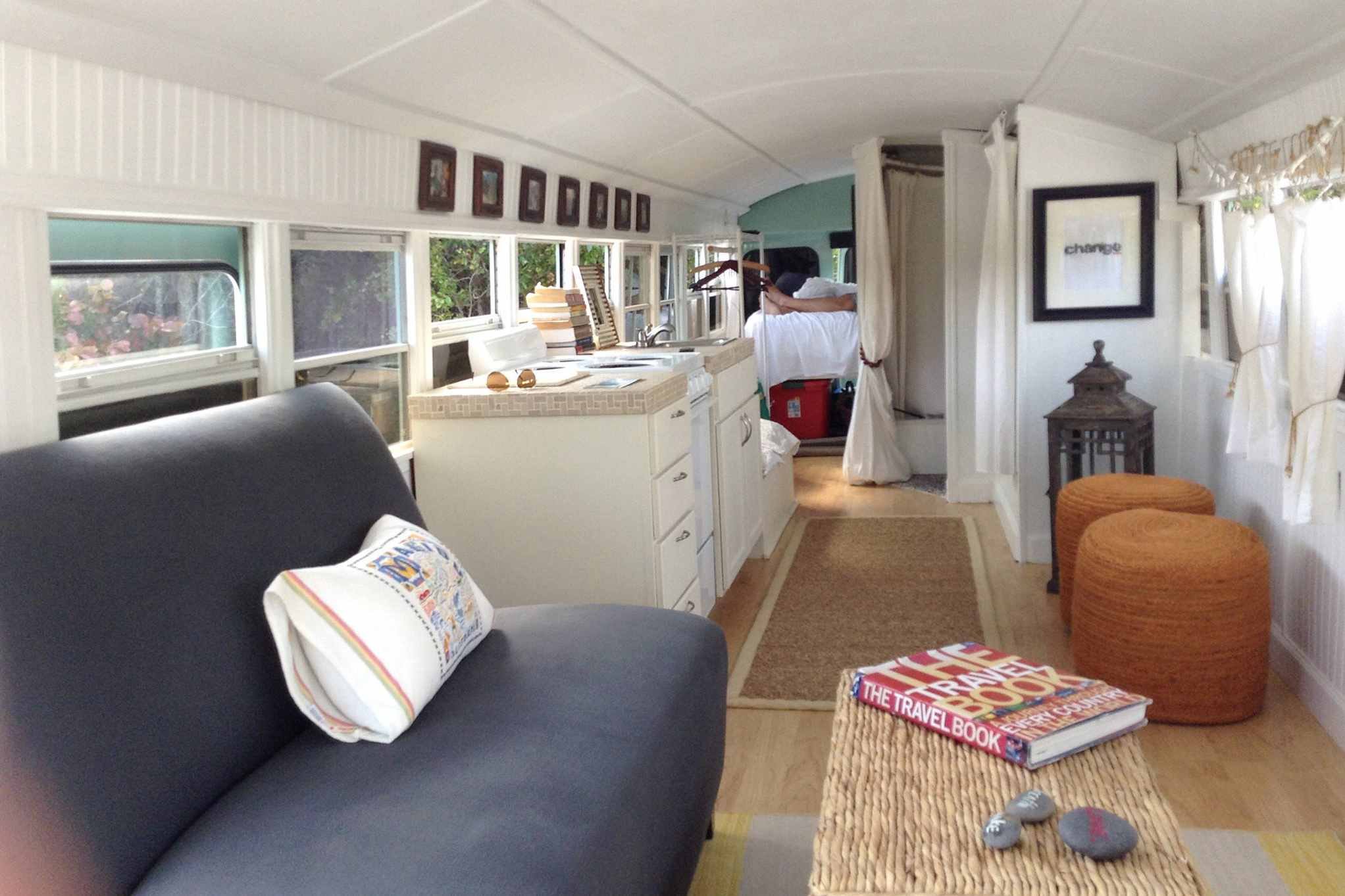 Bus Conversion Turn A Used School Into Tiny House