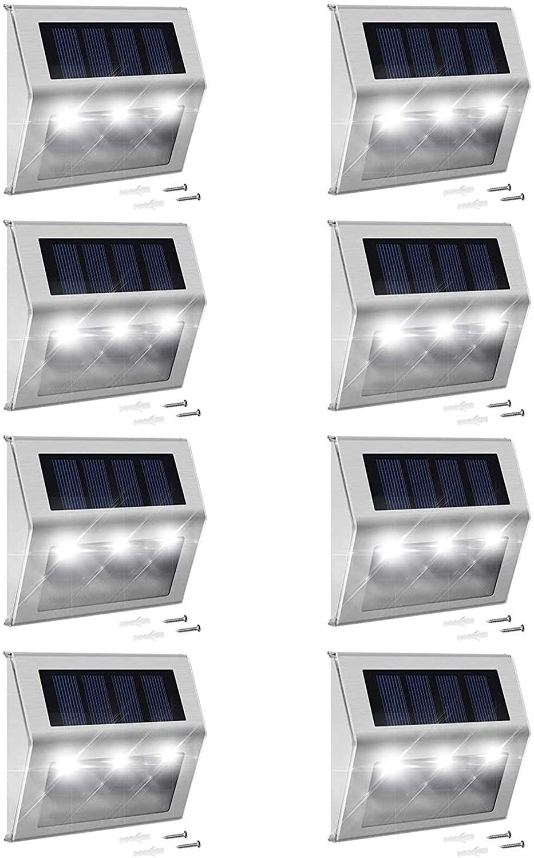 JACKYLED Solar Step Lights