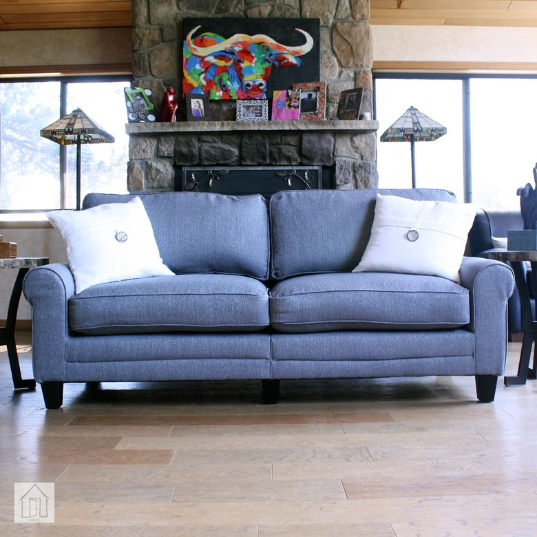 Beachcrest Home Buxton Rolled Arm Sofa