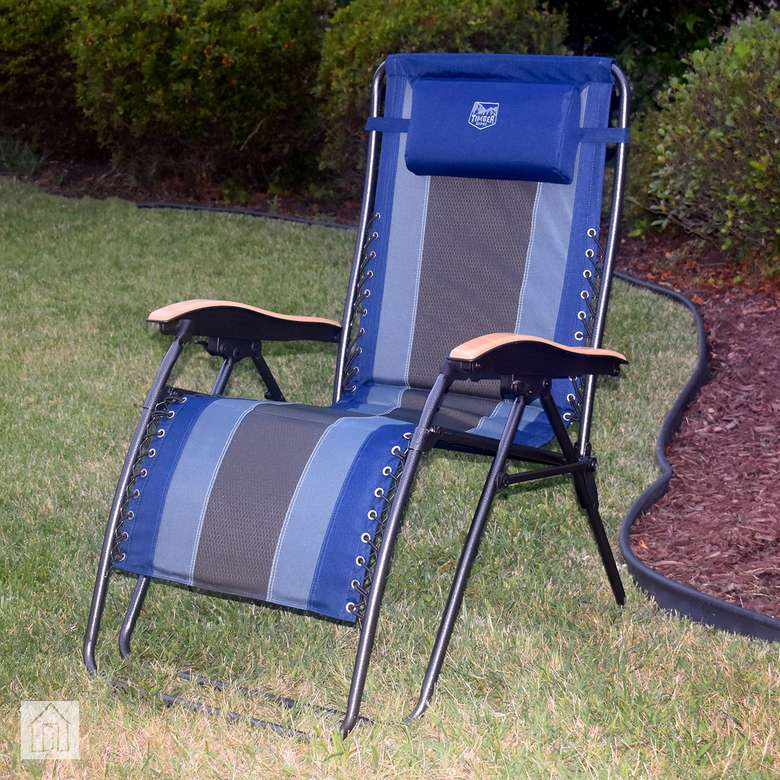 Timber Ridge Zero Gravity Outdoor Lounger
