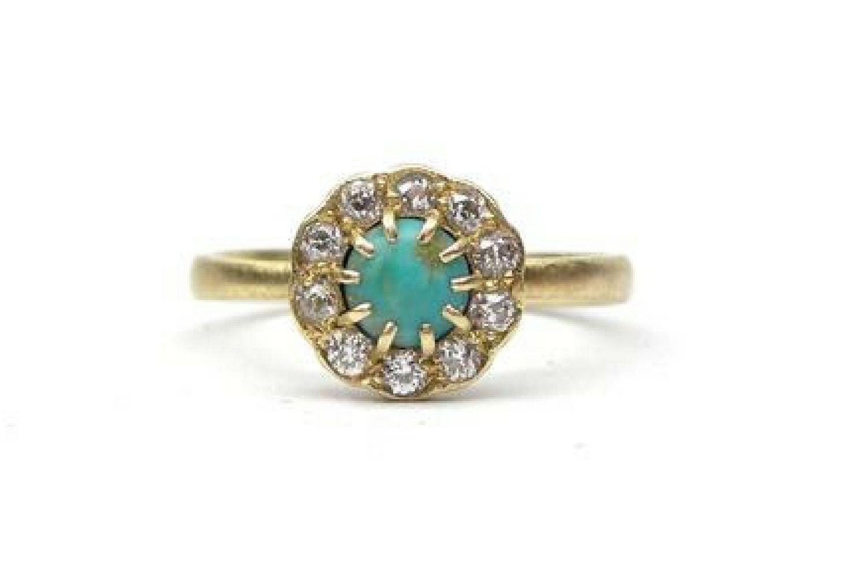 anillo de turquesa