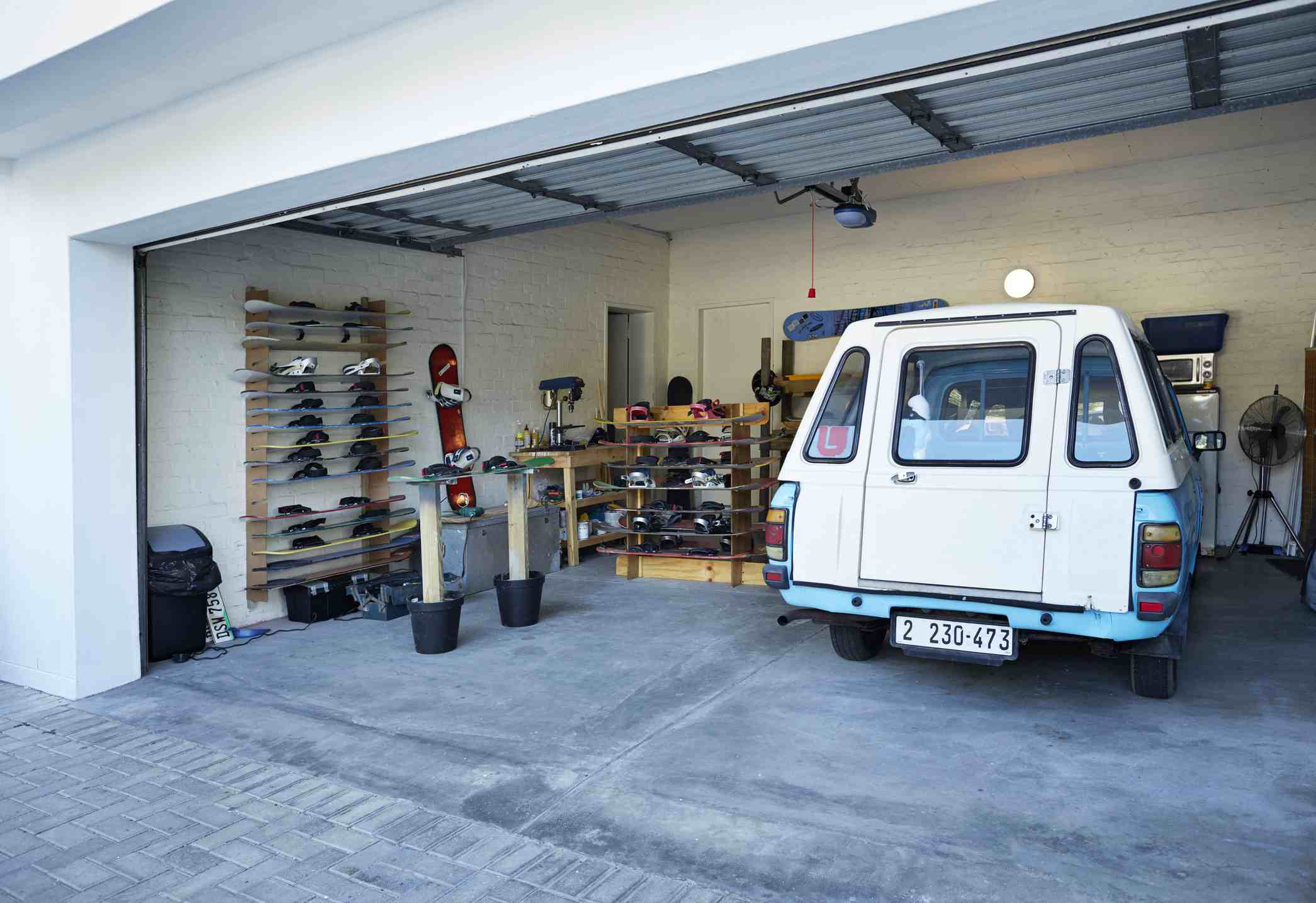 How to Organize a Garage in 5 Steps