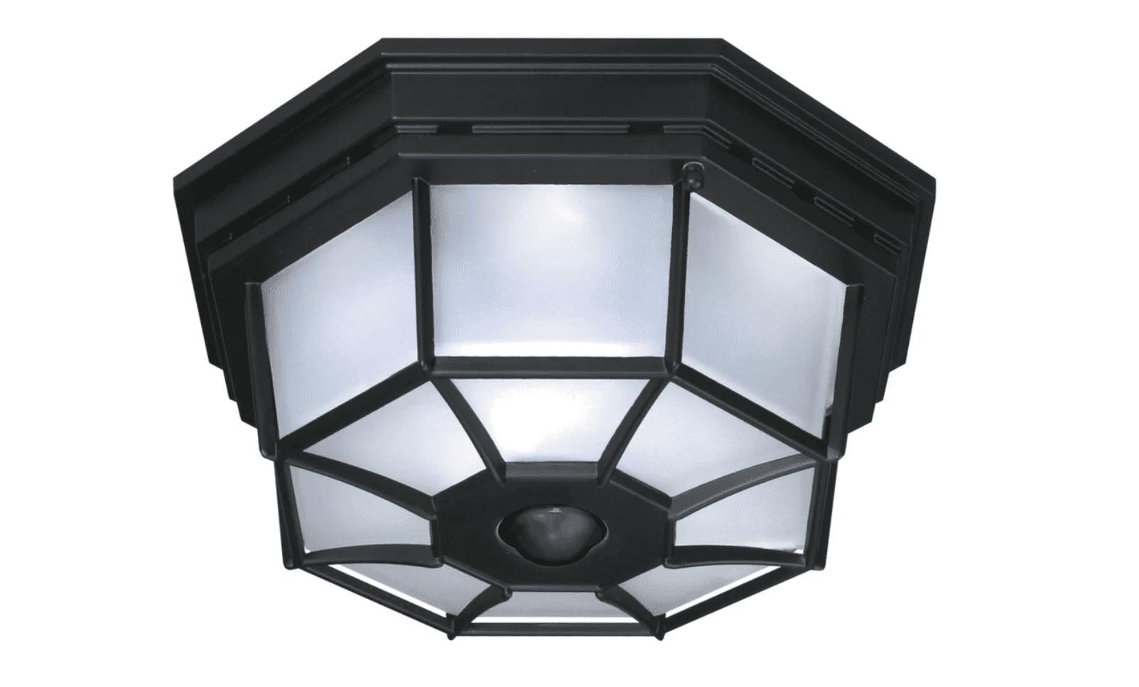 Best Flush Mounted Motion Light Heath Zenith Octagonal