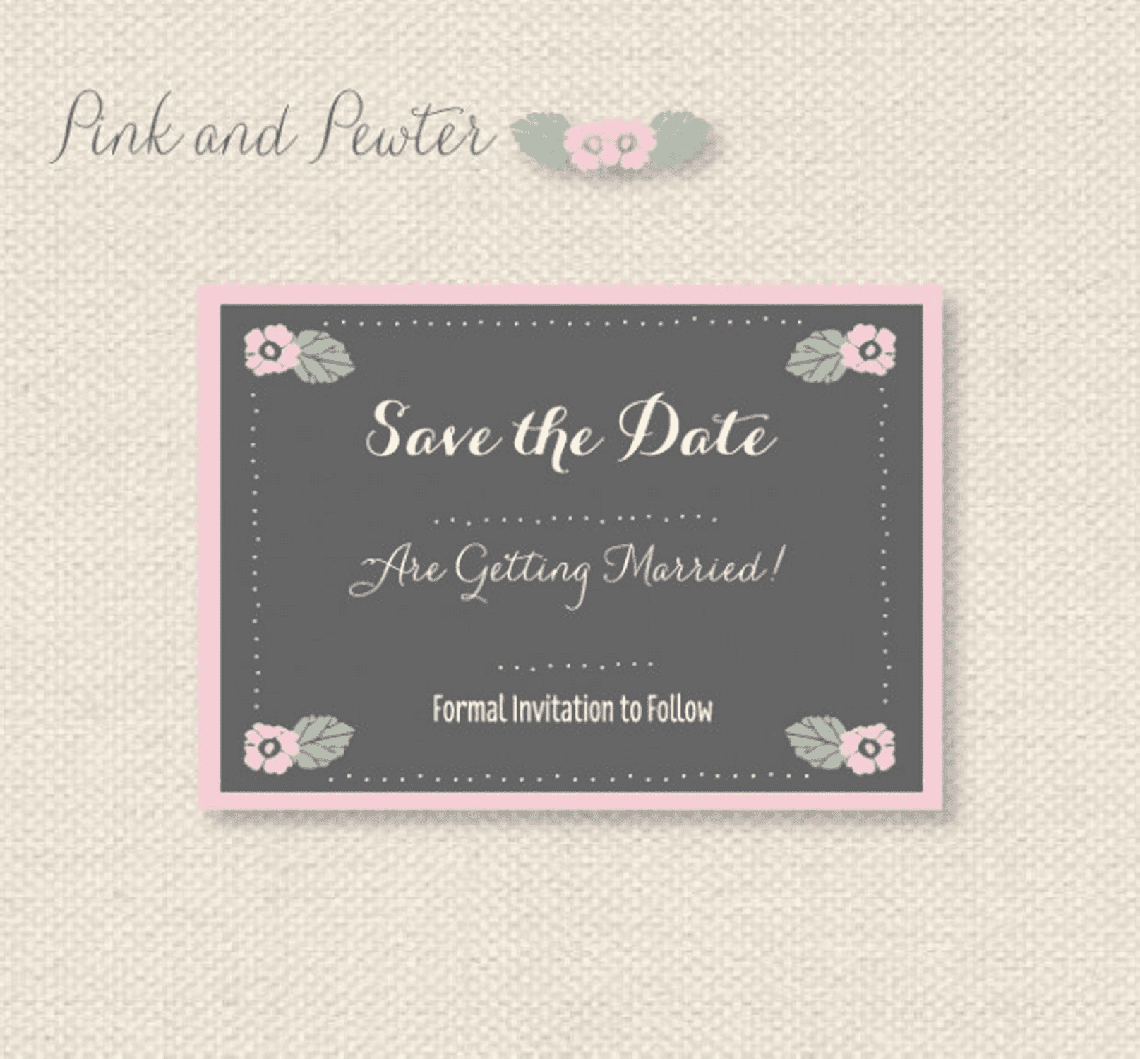 Free Save The Date Templates - Save the date blank template