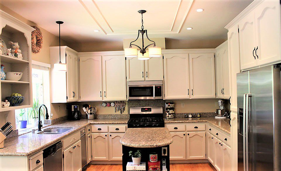 Painted Kitchen Cabinet Ideas on repaint home, repainted cabinets, repaint fireplace,