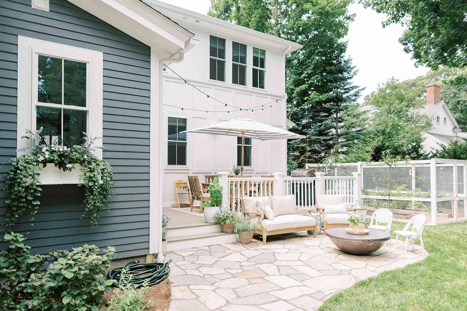 Finding Lovely outdoor seating