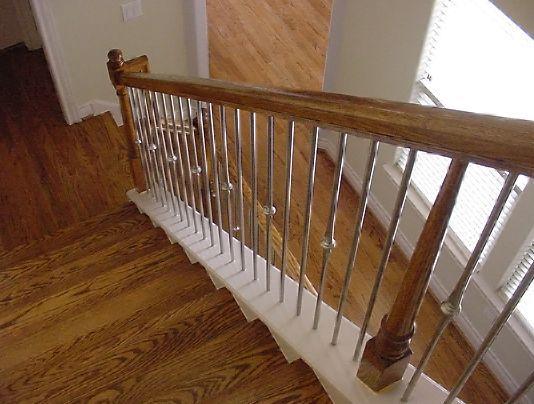 Diseño de escalera de metal