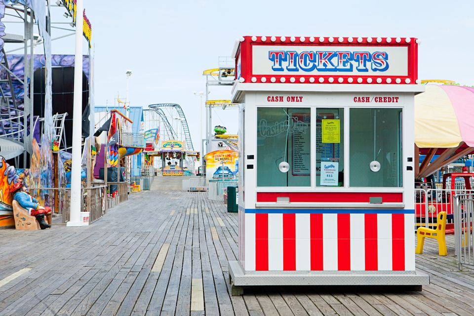 Boardwalk in Seaside Heights NJ