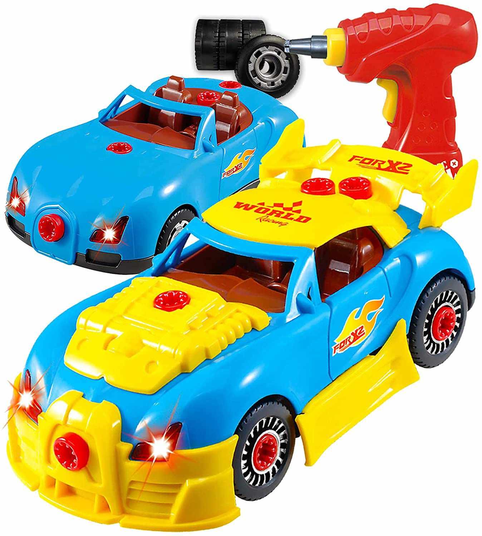 Think Gizmos Take Apart Toy Racing Car Kit For Kids