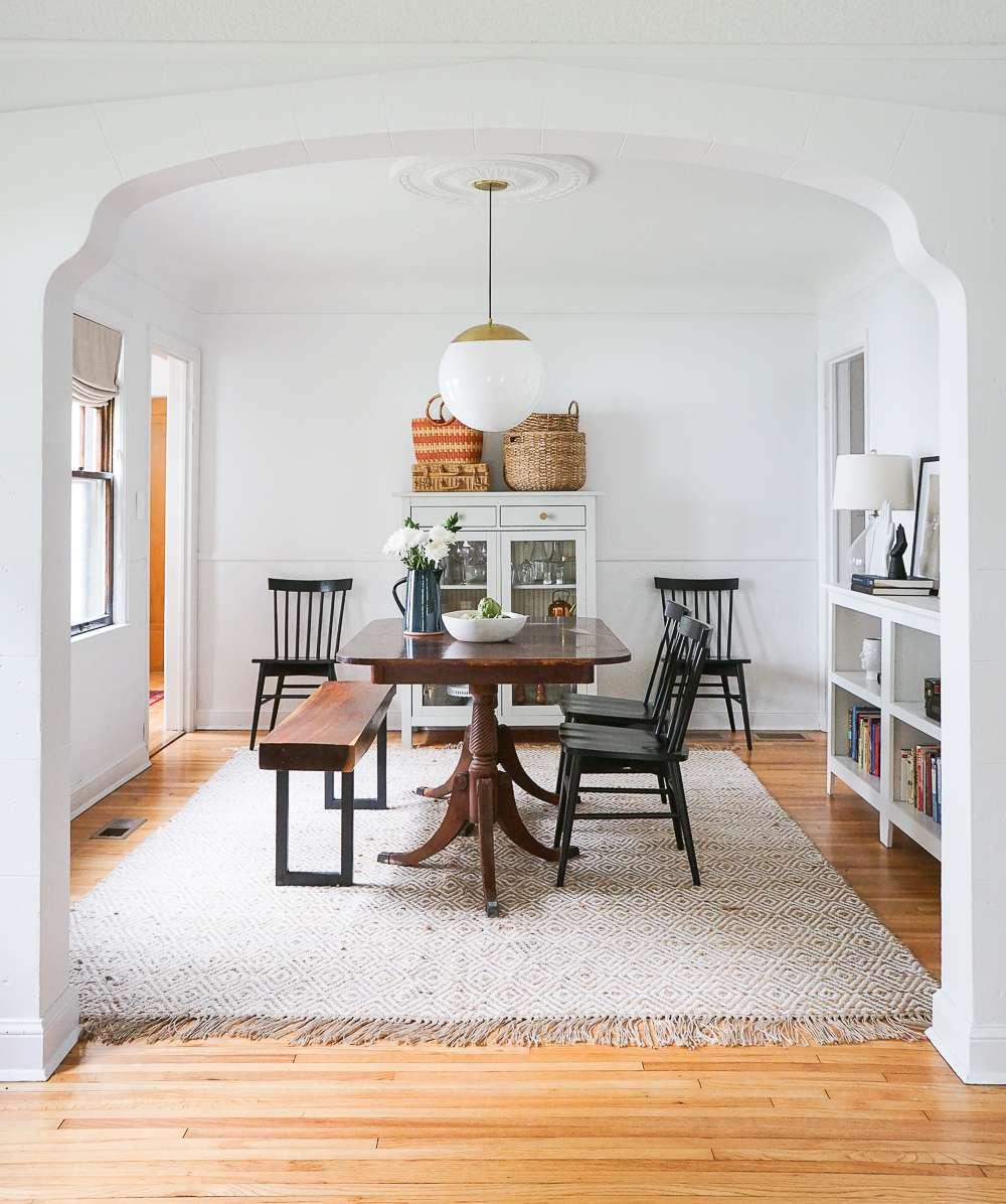 cozy dining room, farmhouse