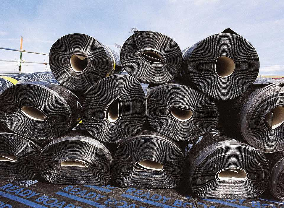 Rolled Roofing Material