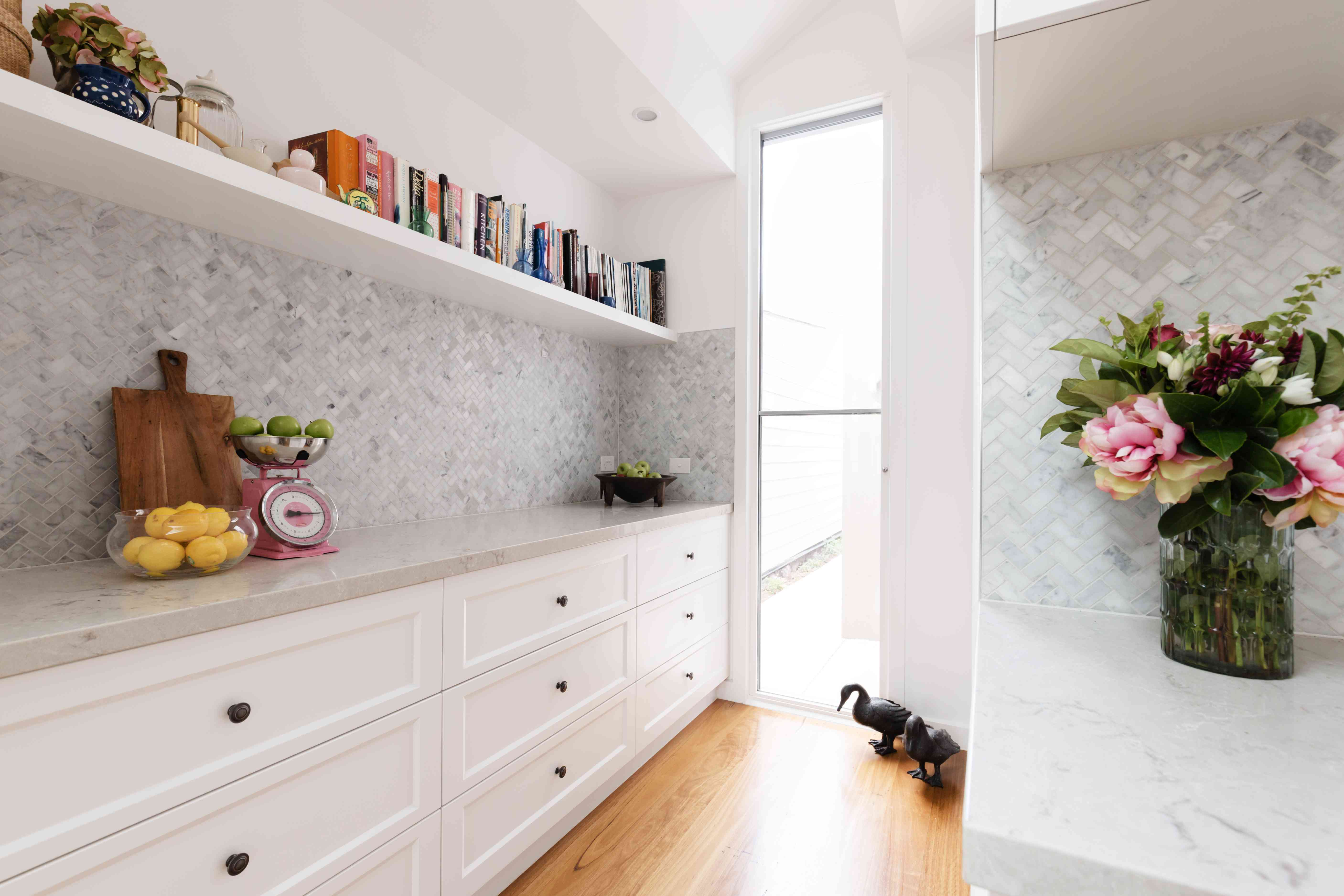 Wrap around butler's pantry in a luxury new kitchen renovation