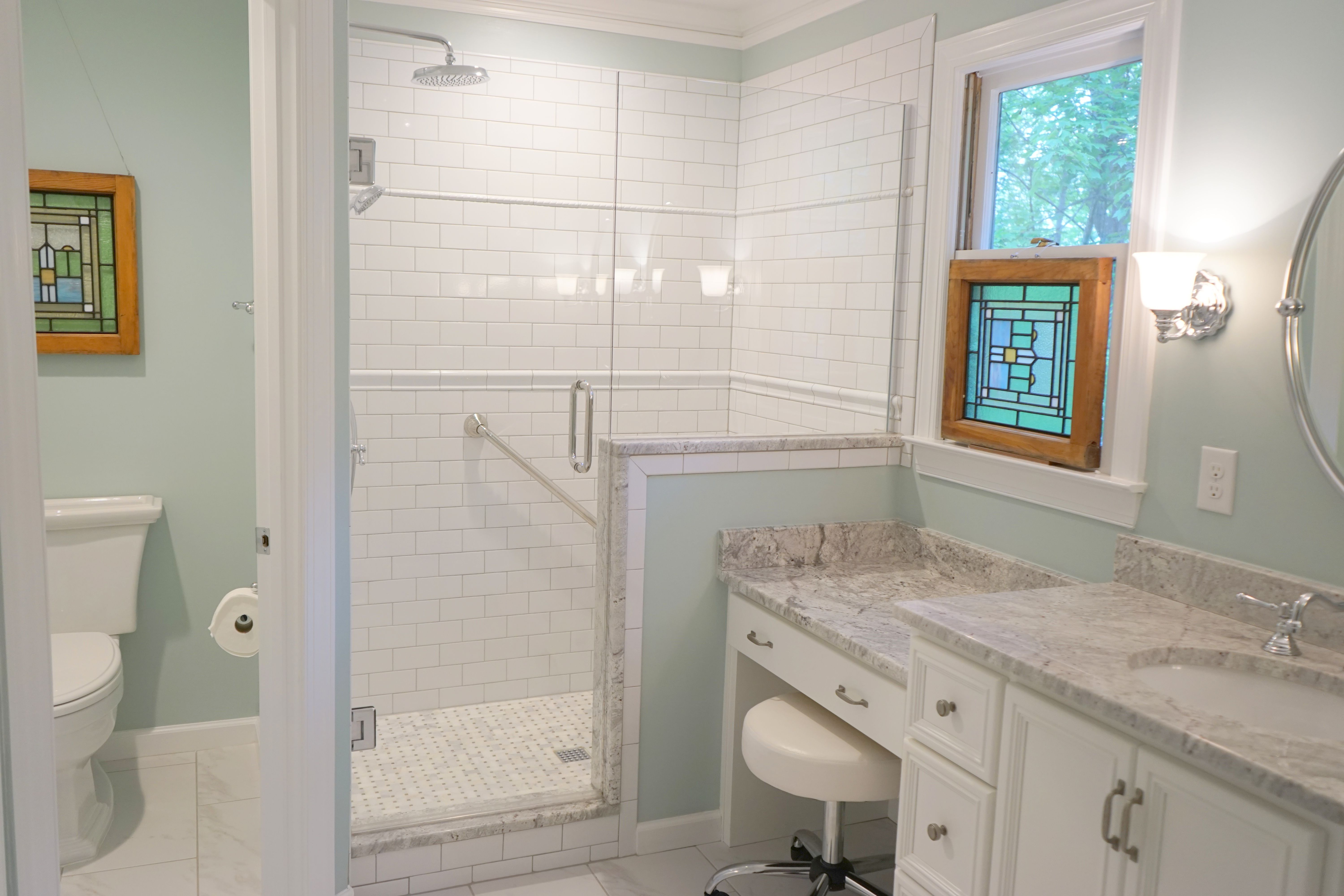 Budget Bathroom Remodel Before And After