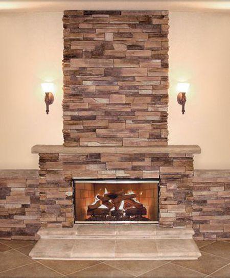 Enjoyable Photos Of Veneer Stone Fireplace Surrounds Home Interior And Landscaping Ferensignezvosmurscom