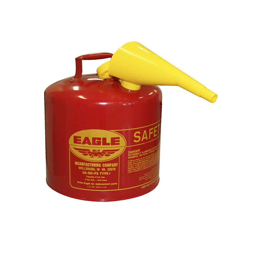 Eagle Galvanized Safety Can