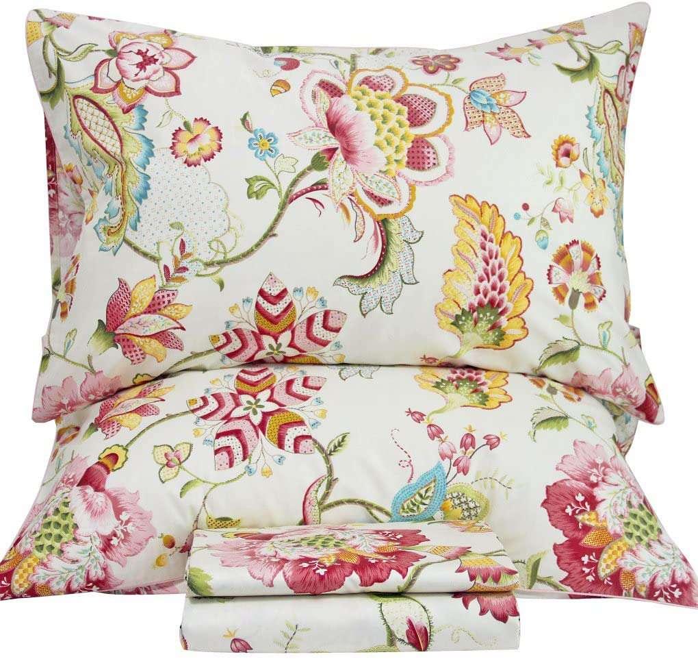 Queen's House Cotton Bed Sheet Set