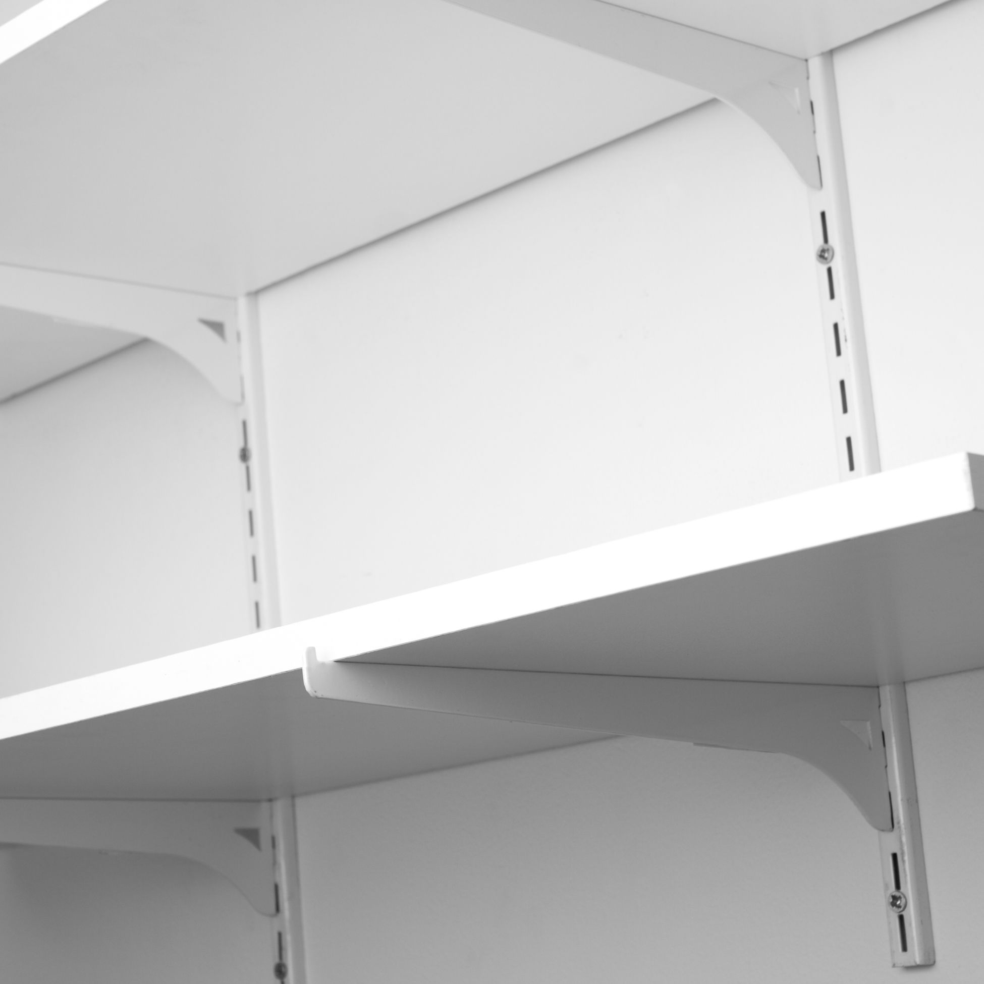 How To Install Wall Shelves Using Standards And Brackets