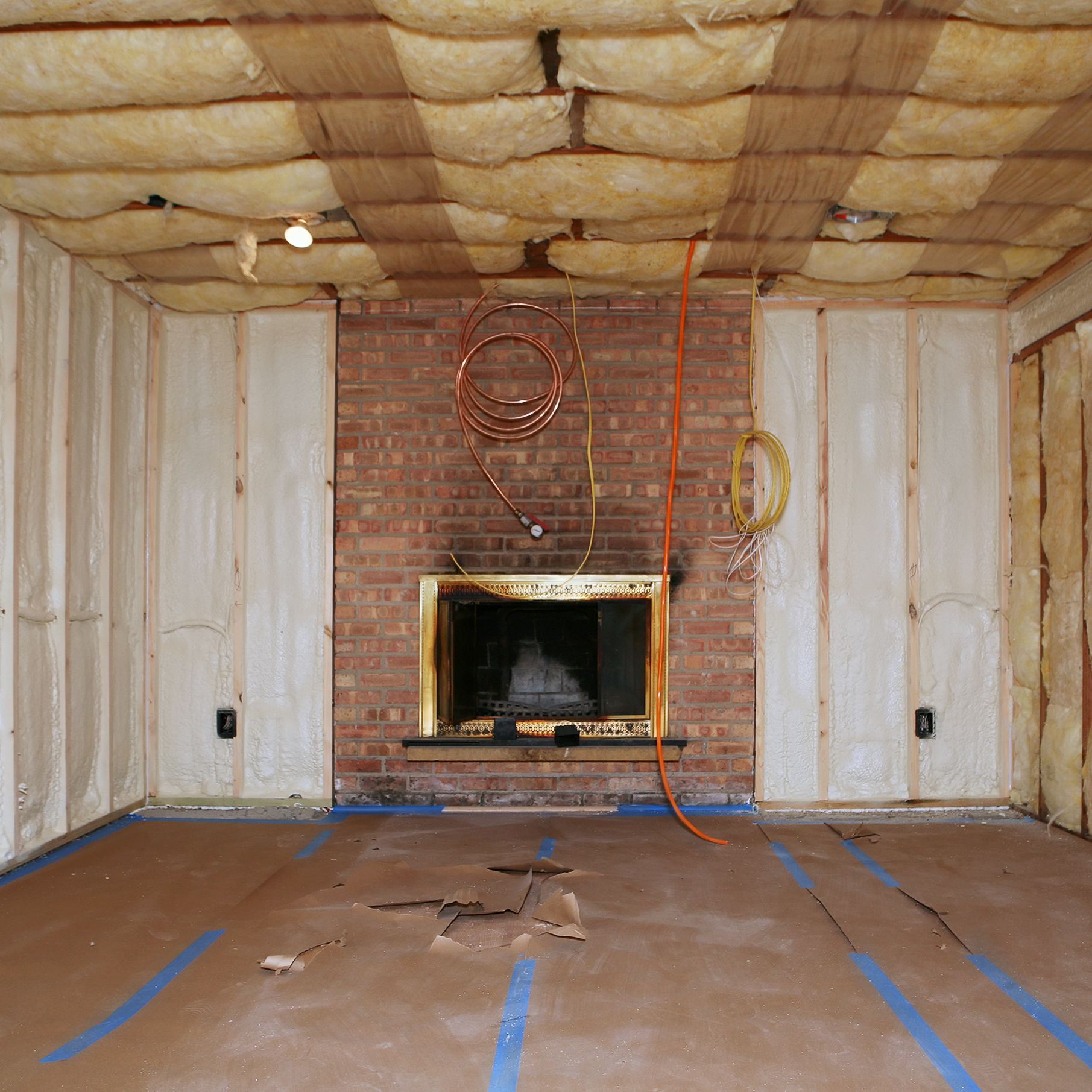 Image of: How To Make Your Basement Warmer