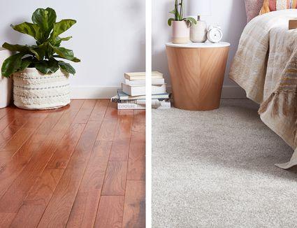Carpet vs. Hardwood Flooring